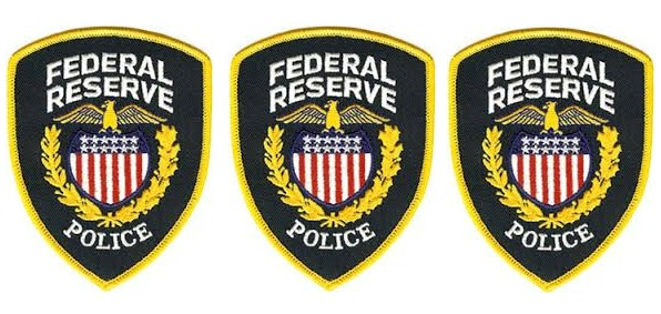 Federal Reserve Police Logo Clipart