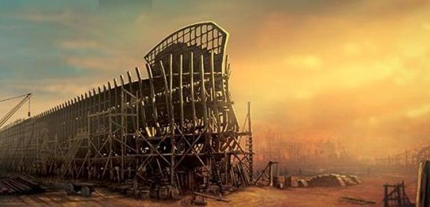 Noah's Ark finally on way to America