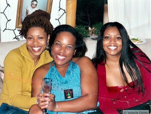 Amy, Valarie and Miriam Carey
