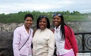 Amy, Valarie and Miriam Carey