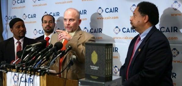 CAIR spokesman Ibrahim Hooper
