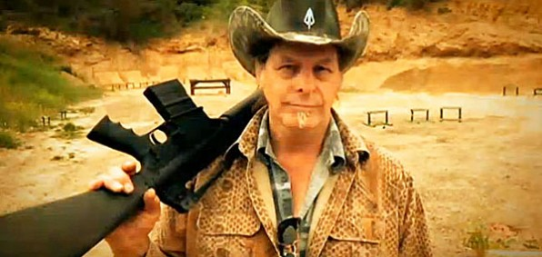 Rock legend Ted Nugent is giving away an AR-15 rifle to help Tom Tancredo get elected governor of Colorado.