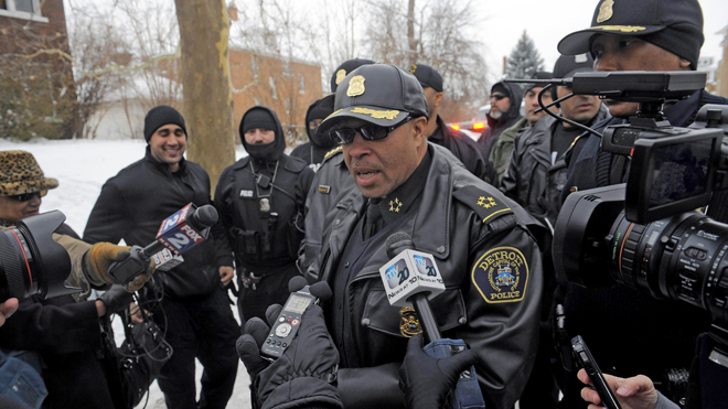 Detroit Police Chief James Craig has been an outspoken supporter of citizen gun rights.