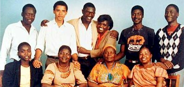 Barack Obama's African family