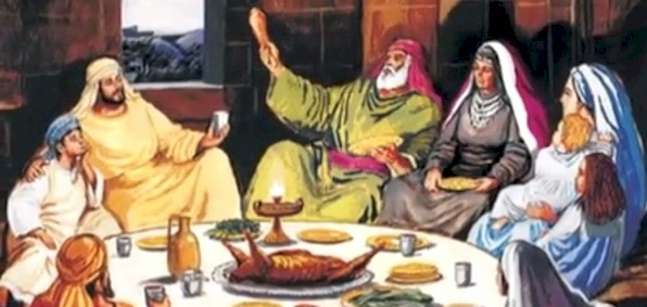 Depiction of Passover