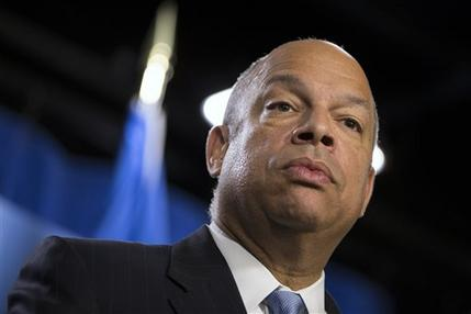 Homeland Security Secretary Jeh Johnson.