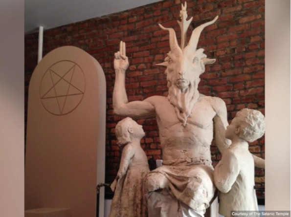 Statue of Baphomet donated to the State of OK by The Satanic Temple