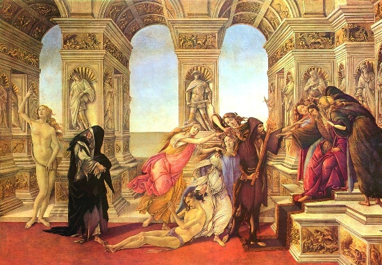 "Botticelli's ""Calumny of Apelles"""