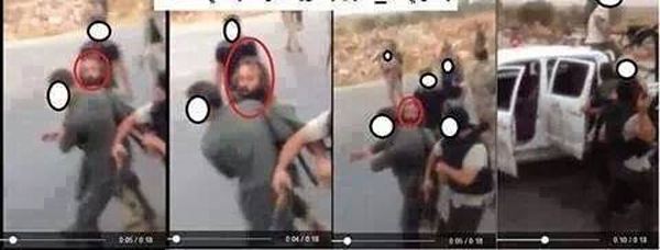 Libyan sources claim these are photos of Abmed Abu Khattala's capture by U.S. agents outside Benghazi, Libya, June 16, 2014.