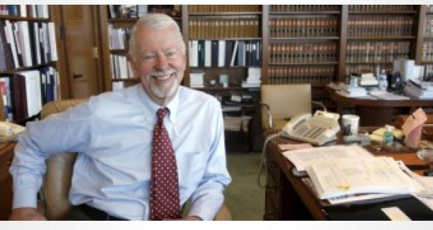 Vaughn Walker, the homosexual judge who ruled for homosexual 'marriage' in California