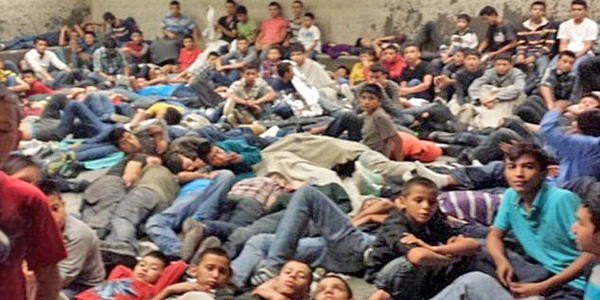 Thousands of illegal immigrants have overrun U.S. border security and their processing centers in Texas along the U.S./Mexico border.