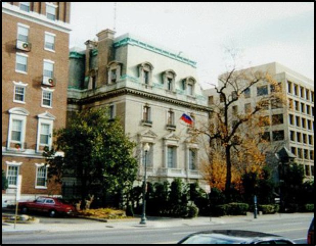 Former Soviet Embassy on 16th Street NW
