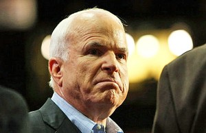 U.S. Sen. John McCain, R-Ariz. opposes the confirmation of Lynch