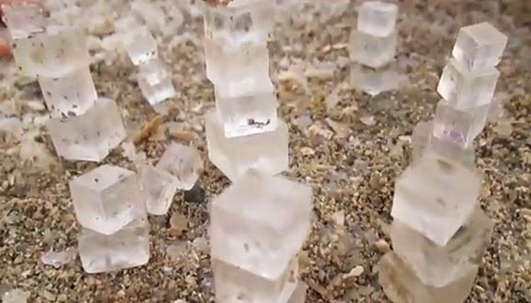 Dead Sea Salt Cube Phenomenon Wows Worldwide Wnd