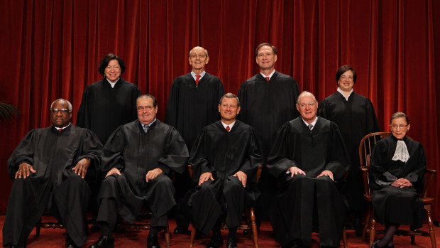"New U.S. Supreme Court Poses For ""Class Photo"""