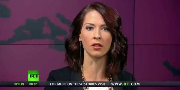 Abby Martin of Russia Today