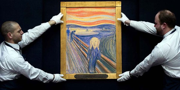 Munch's 'The Scream' at auction