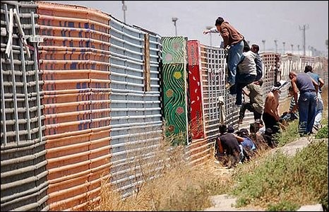 Image result for illegals running to border