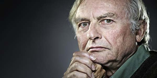 Famous atheist and evolutionary biologist Richard Dawkins