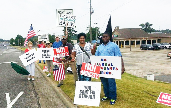 Protest in Birmingham, Alabama