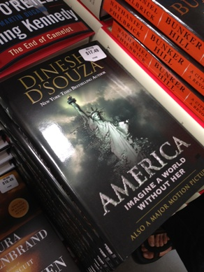 "Copies of ""America"" on sale at a Costco store before they were removed (WND photo)"
