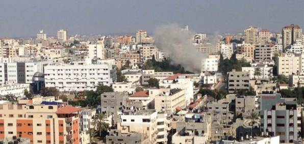 gaza-rocket-strike