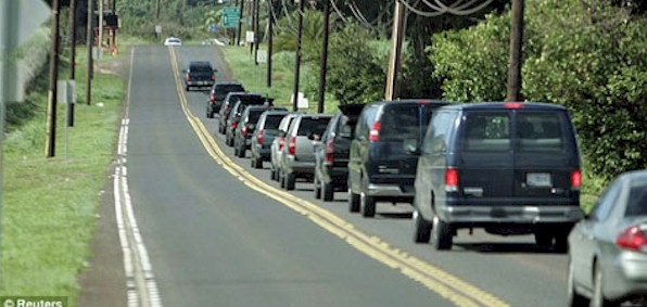 obama_hawaii_vacation_motorcade