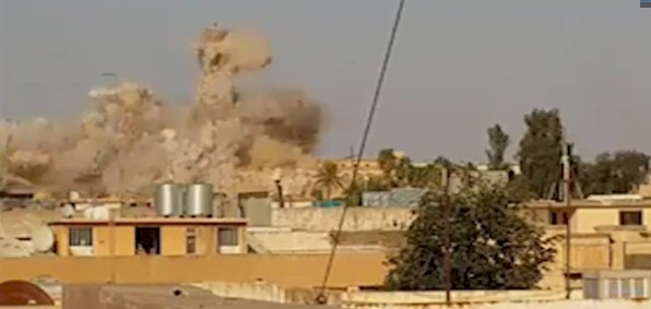 Destruction of the Tomb of Prophet Jonah, July 2014