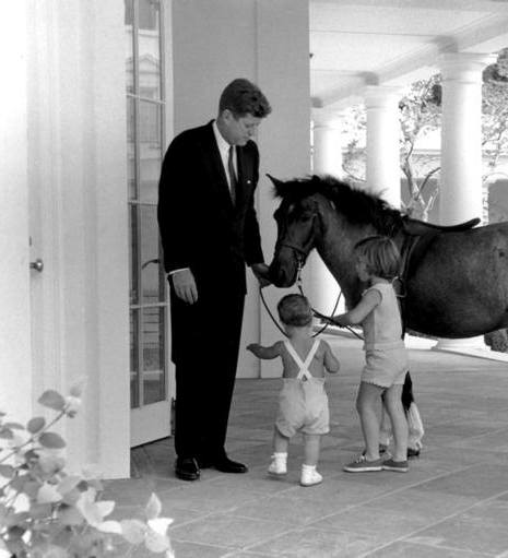 Just in time for some lunch inspiration, this week's #firstpetfriday is Caroline Kennedy's #pony Macaroni. Macaroni was a gift from then Vice President Lyndon B. Johnson and even appeared on the cover of Life magazine with Caroline in 1962.Content courtesy of the John F. Kennedy Presidential Library and Museum. #pets (KN-22365; National Archives Identifier 6816421)