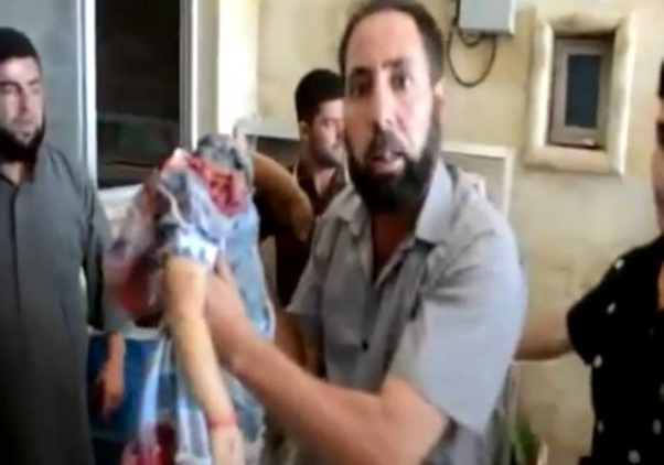 Another image of decapitated child, reportedly in Syria (image courtesy Catholic.org)