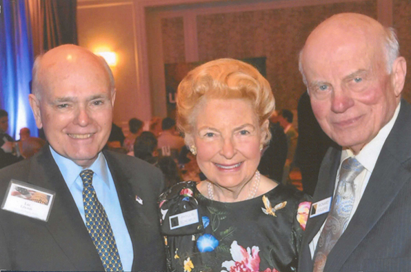 Lee Edwards, Phyllis Schlafly and Richard Viguerie at a conference in 2013.