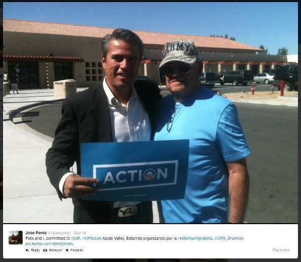 PEREZ w OFA sign Aug 12 2014