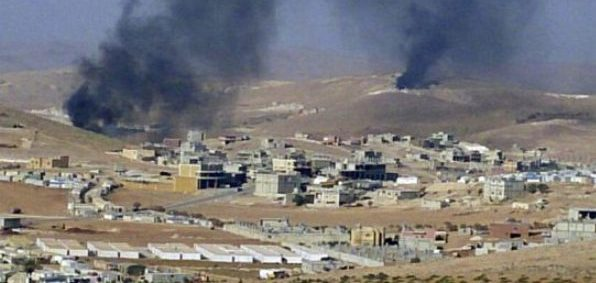 The Sunni Muslim town of Arsal near the Syrian border in eastern Lebanon