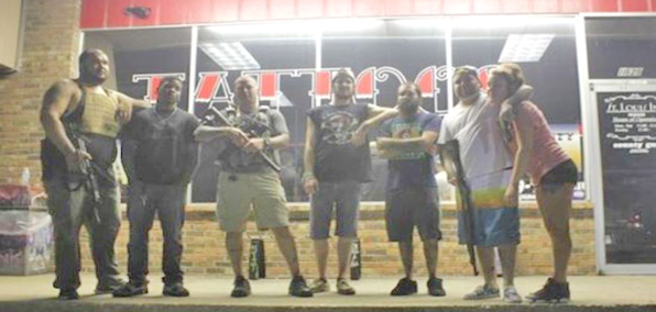The owners of County Guns and St. Louis Ink Tattoo Studio have defended their stores each night during the Ferguson riots.