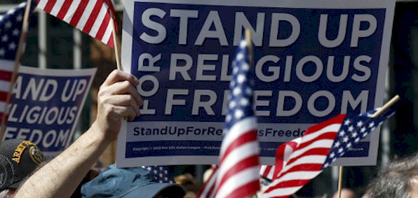 Then as now: Hands off our religious freedom!