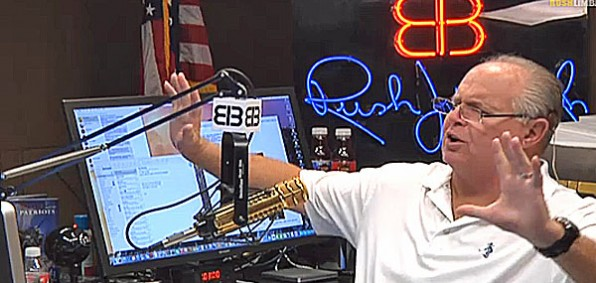 Radio host Rush Limbaugh