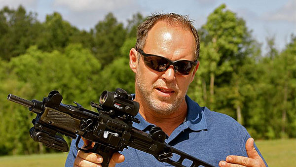 "Will Hayden, star of ""Sons of Guns"""