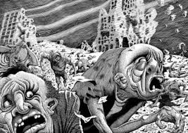 """Mutants"" from series in Plain Truth, Basil Wolverton"