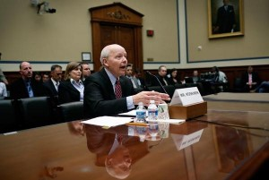 IRS Commissioner Koskinen testifies before Congress