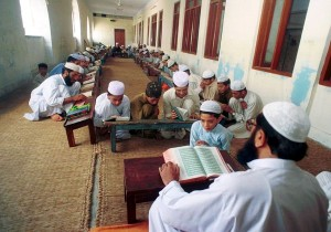 Students-recite-lines-at-a-Madrassa-in-Pakistan