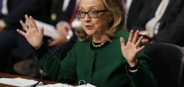 Hillary Clinton testifies to a congressional committee probing the Benghazi attack.