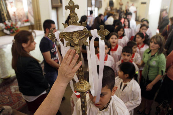 Iraq's Christians have been forced to flee or face certain death in the path of ISIS terrorists.