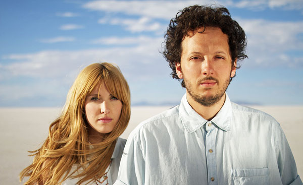Lisa and Michael Gungor of the Christian band Gungor