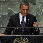 President Obama blames the Benghazi attack on an anti-Islamic video while addressing the U.N. General Assembly on Sept. 25, 2012