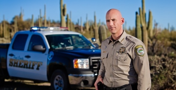 Sheriff Paul Babeu of Pinal County, Arizona