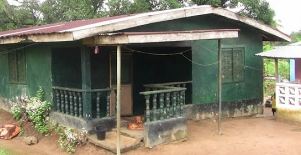 Home of Marthalene Williams, photo: Front Page Africa