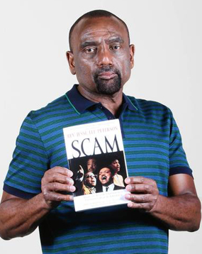 "Peterson authored the book ""Scam: How Black Leadership Exploits Black America."""