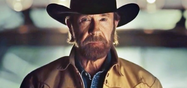 Action star Chuck Norris