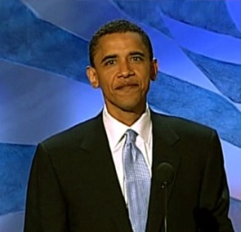 Barack Obama at the 2004 Democratic National Convention