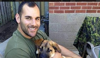 Cpl. Nathan Cirillo was shot and killed while guarding the National War Memorial in Ottawa.